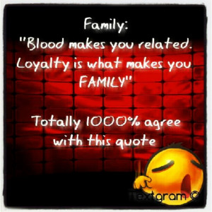 Family Loyalty Quotes About...
