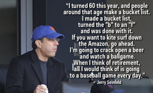 Jerry Seinfeld Explains His Obsession With Baseball