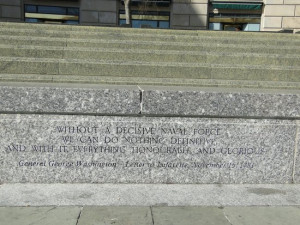 United States Navy Memorial and Naval Heritage Center Photo: Quote ...