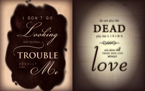 Harry potter quotes wallpapers