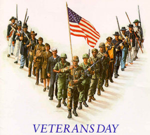 ... limiting the veterans day holiday to veterans will save our nation