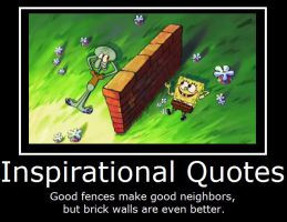 SpongeBob SquarePants- Inspirational Quotes by MasterOf4Elements