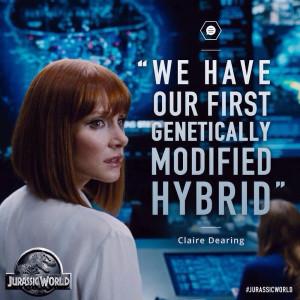 Jurassic World Claire Dearing Quote - Jurassic World