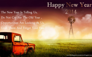 Beautiful Happy New Year Poems - Latest New Year 2014 Poems