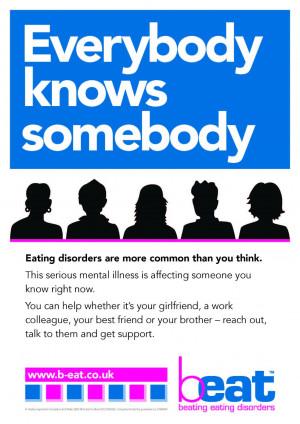 Eating Disorders Awareness Week 2013