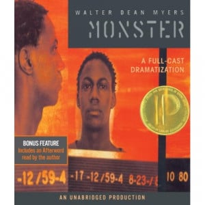 Monster by Walter Dean Myers (Audiobook; Listening Library, 2007)