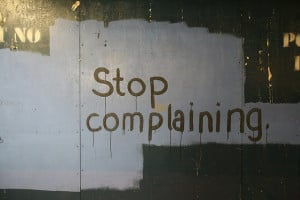 10 Things to Do Instead of Complaining