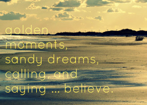 Beach Quote Photography - Inspirational Quote Print - Shore Sunset ...