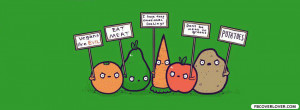 Click below to upload this Fruit And Veggie Protest Cover!