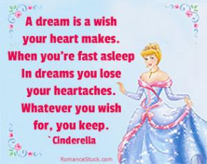 Love Quotes: www.romancestuck.com/quotes/disney-quotes.htm #Cinderella ...