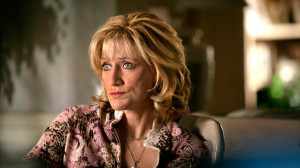 Carmela Soprano Close Up Makeup On Looking Concerned picture
