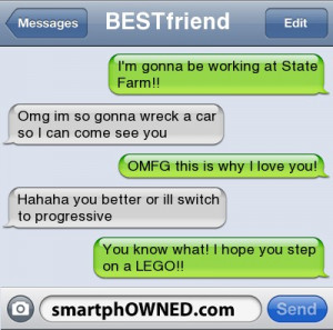 Funny Best Friend Text Messages