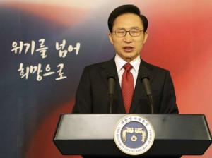 Presidente sul-coreano, Lee Myung-bak, assegurou nesta segunda-feira ...