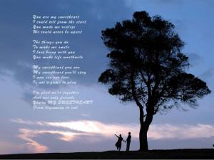 love heeds love romantic wrote you sweet poem let me