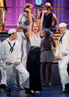 Sutton Foster in Cole Porter's Anything Goes-great show! Saw it in ...