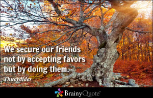 Favors Quotes