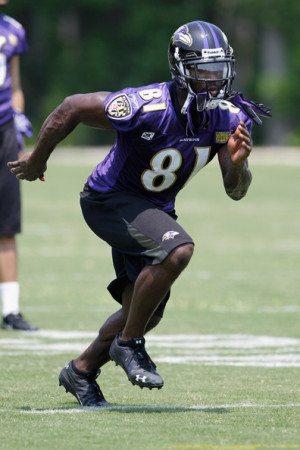 Anquan Boldin Wide receiver Anquan Boldin 81 of the Baltimore Ravens