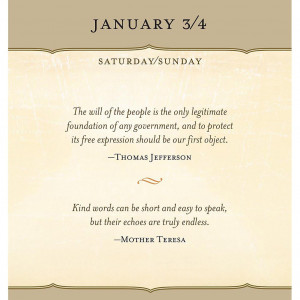 ... Inspirational Quotes >Great Quotes from Great Leaders Desk Calendar