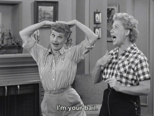 Can't see Lucy & Ethel without thinking of you! @Kristin Plucker ...
