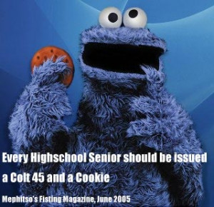 ... and dirter cookie monster quotes in a John Madden thread [ View All