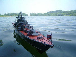 Large Scale RC Warship Kits