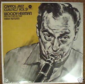 Woody Herman Early Autumn Jazz Classics Vol 9 SEALED LP