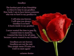 Browse Best Bye Bye Poems, we have a special collection of superb, one ...