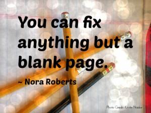 Nora Roberts says,