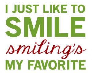 Elf Movie Wallpaper Quotes Elf quote - smiling's my
