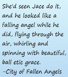 City Of Fallen Angels Quotes. QuotesGram