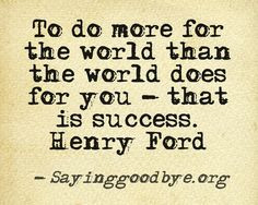 give back # ford # quote more life quotes giving back quotes brilliant ...