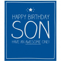 Happy Jackson Happy Birthday Son Card