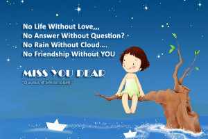 no life without love no answer without question no rain without cloud ...