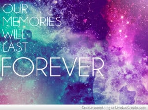 cute, galaxy, love, our memories, pretty, quote, quotes, stars ...