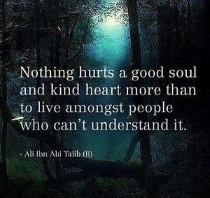 Good soul & Kind heart