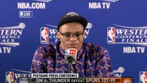 Russell Westbrook camisetas horribles y look hortera