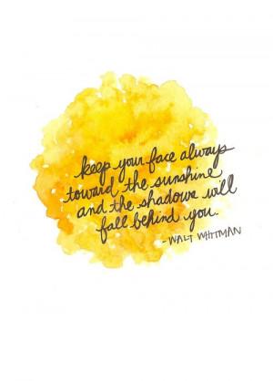 by Walt Whitman
