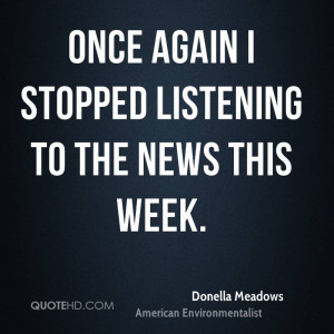 Donella Meadows Quotes