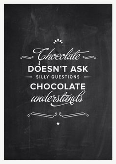 yeppp. // Kitchen decor vintage blackboard chocolate by ...