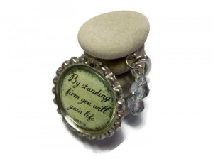 Biblical Quote Gratitude Rock Cairn River Stones Religious Symbol ...