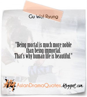 quotes from korean drama gu famous quotes about family drama