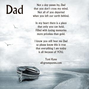 Remembering Dad Quotes Quotesgram