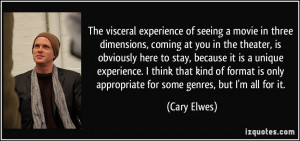 More Cary Elwes Quotes