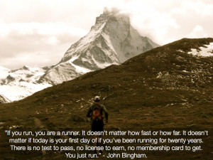 Running Quotes Tumblr A favorite running quote?