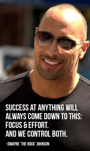 Dwayne The Rock Johnson Quote (credit: david_shankbone via photopin cc ...