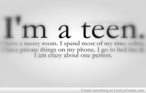 cute, im a teen, life, quote, quotes