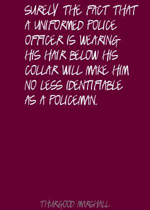 Police Officers Quotes