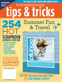 Scrapbooking Tips & Tricks: Summer Fun & Travel