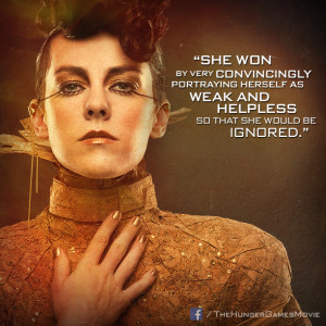 Johanna is one of the tributes who is reaped for the 75th Hunger Games ...