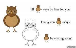 can all use another owl graphic and funny owl ish sayings right